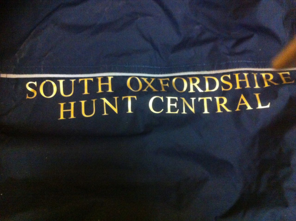Childrens South Oxfordshire Hunt Central Navy Regatta Dover jacket